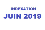 Indexation Juin 2019